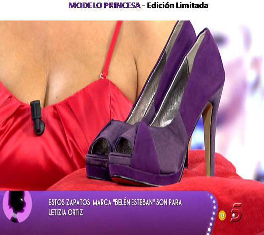 La Princesa Letizia agradece a Belén Esteban el regalo de los zapatos