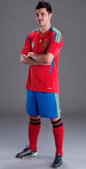 camiseta oficial selección española fútbol 2011 2012
