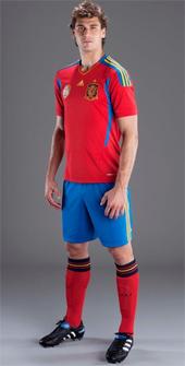 equipación selección española fútbol 2011 2012