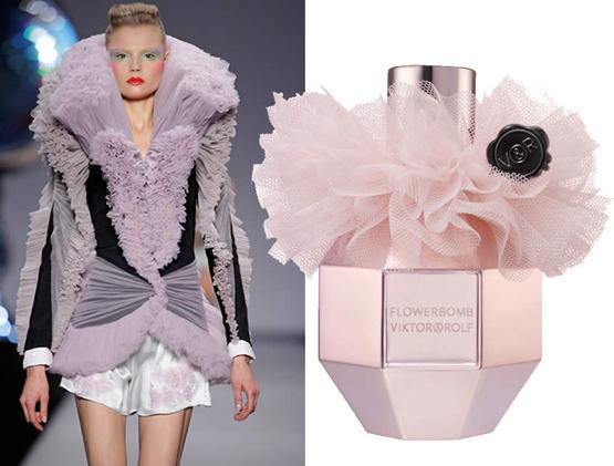 The Flowerbomb Tulle Edition perfume de Viktor & Rolf para Navidad