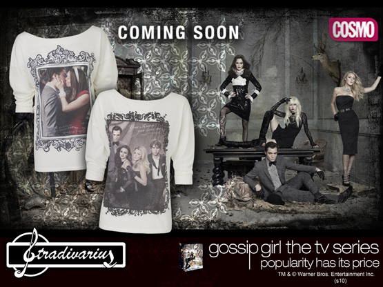 ropa Gossip Girl Stradivarius camisetas