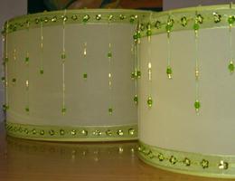 lámparas veladores apliques pantallas artesanales