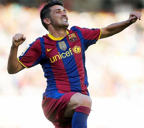 David Villa mejor deportista del año 2010