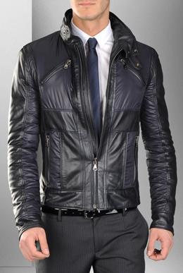 chaqueta piel hombre Dolce & Gabbana