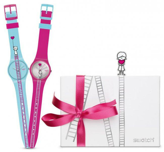Love Collection de Swatch para San Valentín 2011