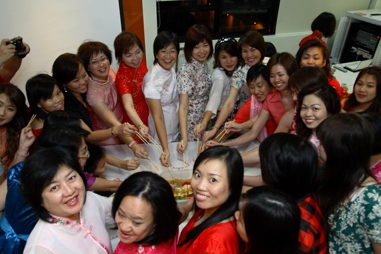 Good Year stated with Lou Sang
