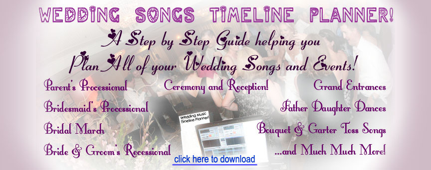 Wedding Music Planner