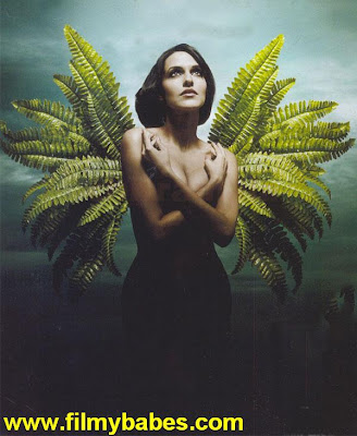 Neha Dhupia Goes Topless For 'Go Green' Campaign !!