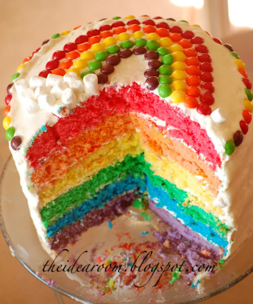 rainbow cake
