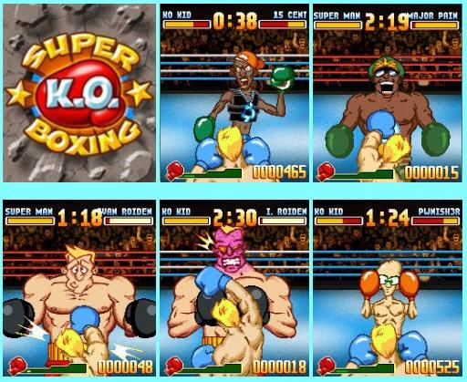 ko boxing game