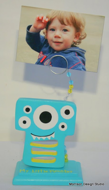 My Little Monster Picture Holder