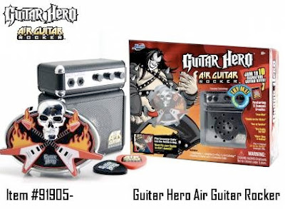 Jadatoys  - Guitar Hero Air Guitar Rocker will be available in spring