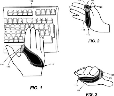 Microsoft Wearable Mouse Patent On Show