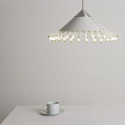 28 Bulbs Lamp by Christopher Moulder