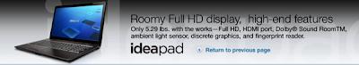 Lenovo Introduces IdeaPad U550 Without Saying Anything