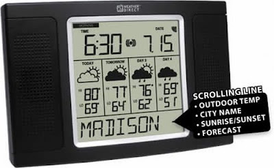 4 Day Audio Internet Weather Station