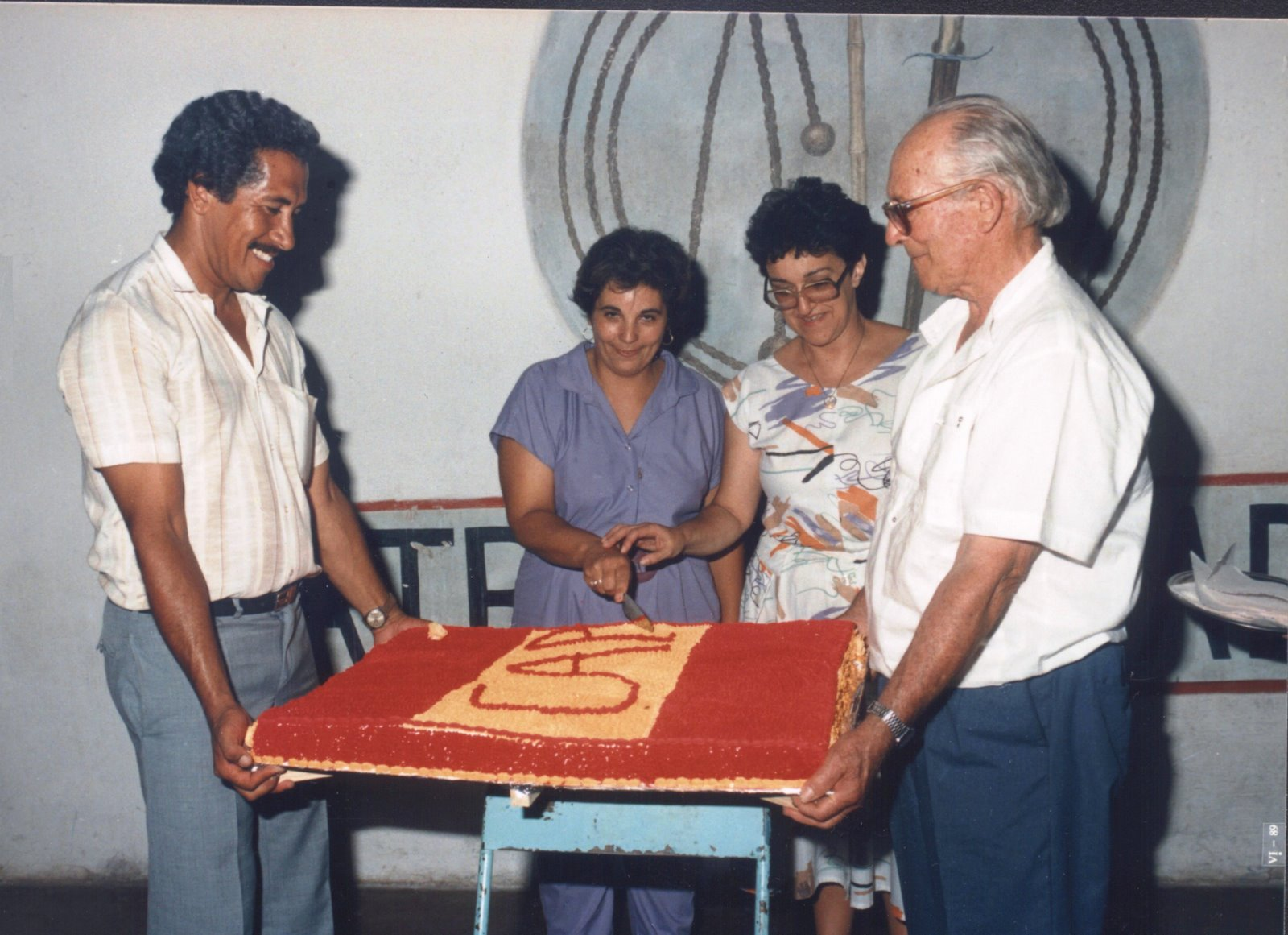 AÑO 1990 CLEMENTINO ALBERNAZ