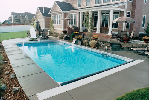 Pacific pools options for design are endless with a pacific pool - Rectangle pool designs ...
