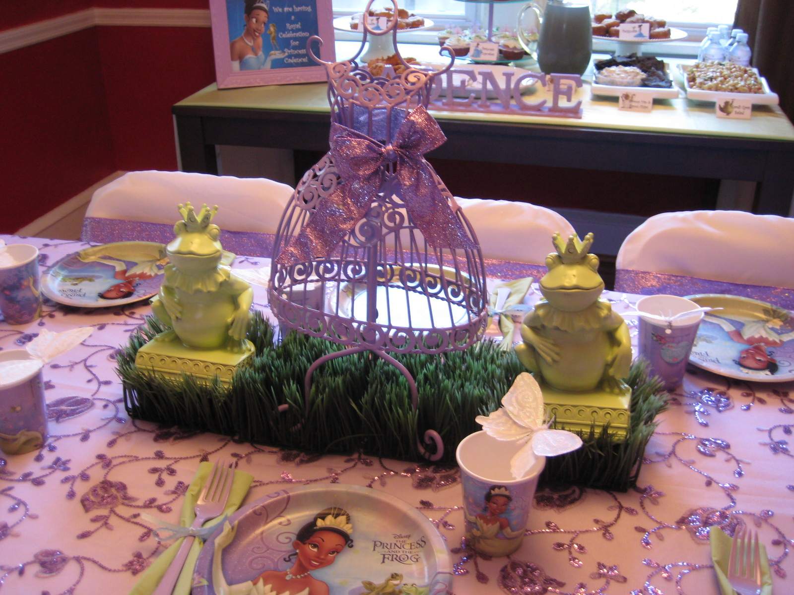 for all things creative!: Princess & the Frog Party