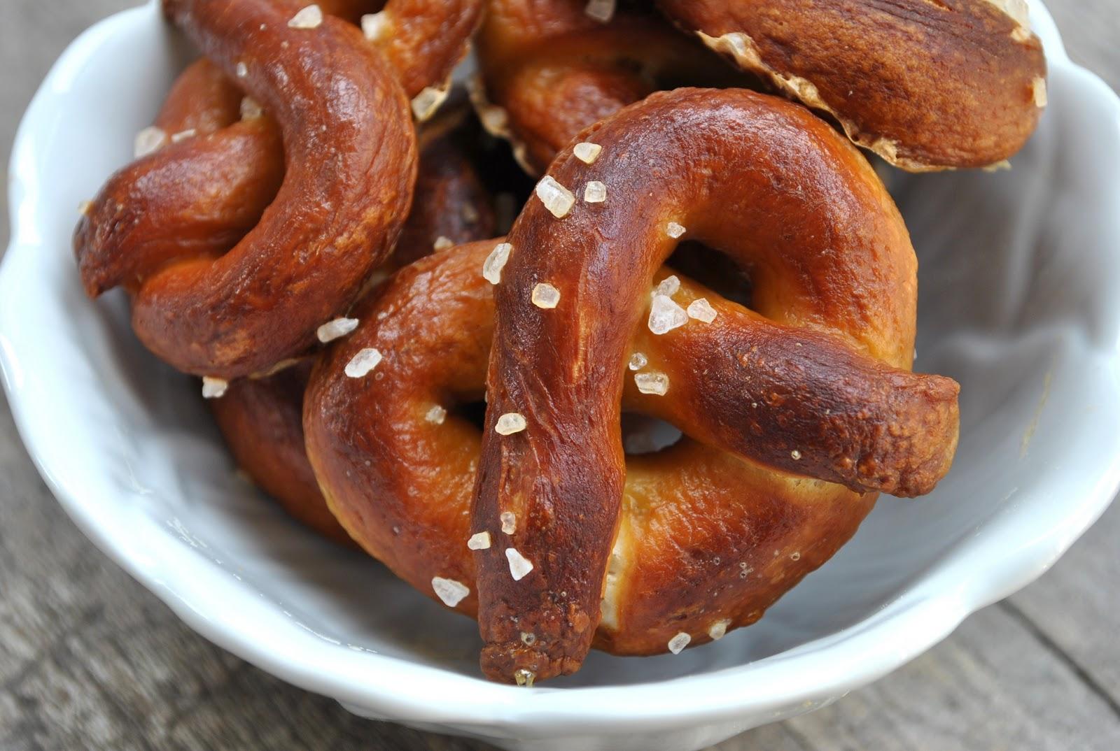 Baking Powders: Soft pretzels and barbecue pretzel bites