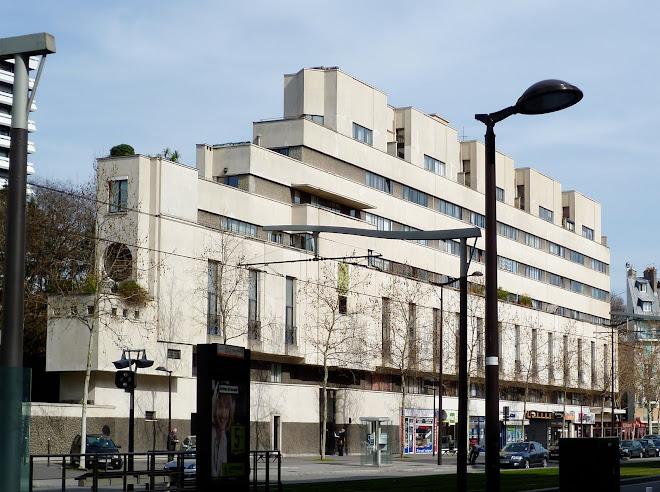 Façade boulevard Victor
