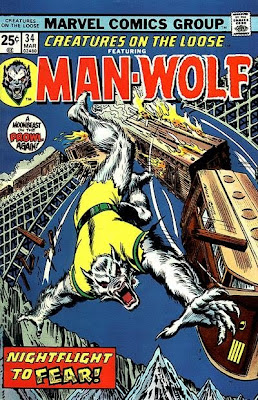 Man-Wolf, Creatures on the Loose #34