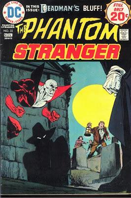 Phantom Stranger #33, Jim Aparo, Mike Grell, Deadman