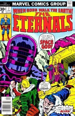 Jack Kirby, Eternals #7