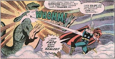 Mighty Thor #243, John Buscema, the Tomorrow Man