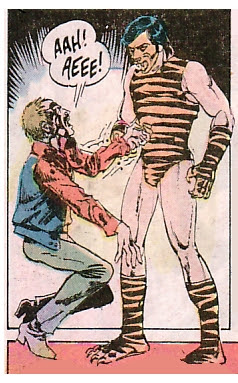 Atlas Comics, Tiger-Man #1, costume