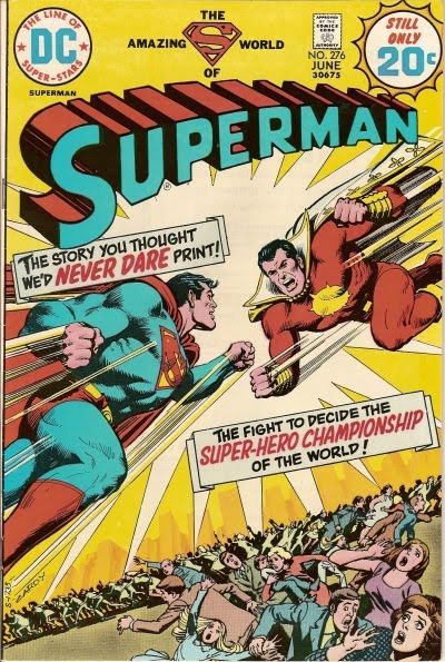 Superman #276, Superman vs Captain Thunder/Marvel