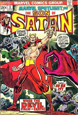 Marvel Spotlight #13, the Son of Satan