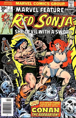 Red Sonja vs Conan Marvel Feature #7