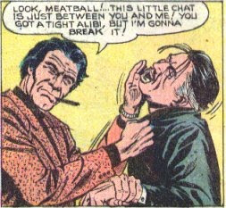 Lomax, Atlas Comics, Police Action #1