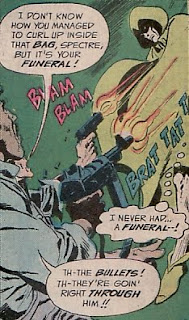 The Spectre never had a funeral, Adventure Comics #439, Jim Aparo and Michael Fleisher