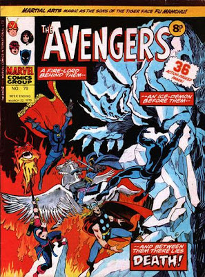 The Avengers #61 or is it the Avengers #79? Fire and Ice