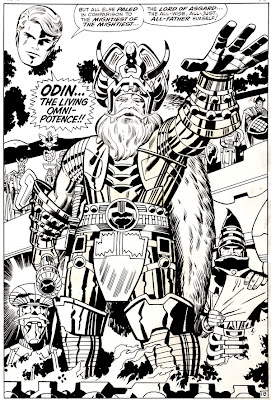 Odin, king of Asgard