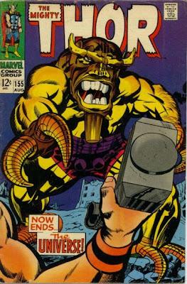 Thor #155, Mangog, Jack Kirby