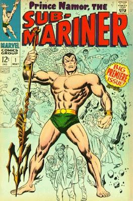 Sub-Mariner #1, John Buscema cover
