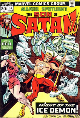 Son of Satan in Marvel Spotlight #14, Ikthalon
