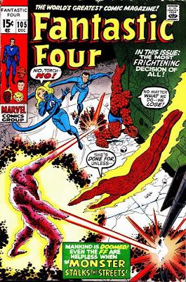 Fantastic Four #105, John Romita