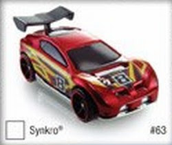 2009 Hot Wheels Synkro Track Stars
