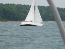 Sailing on Lake Hartwell