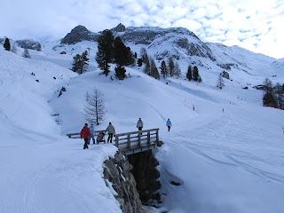 Wandelen in de sneeuw