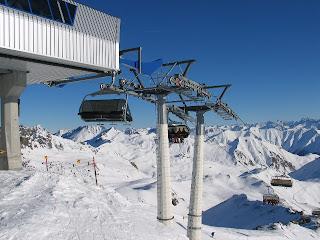 Skiliften Ischgl - Samnaun