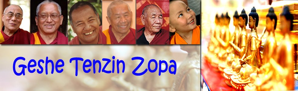Geshe Tenzin Zopa