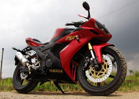 Hasil Modifikasi Yamaha New Vixion