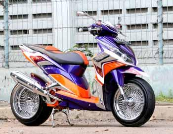 Modifikasi Honda Vario CBS 2010 - Kreto CB