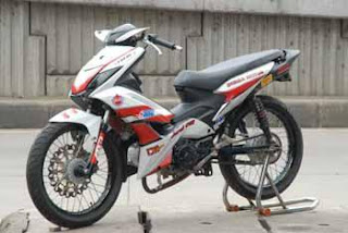 MOTOR HONDA BLADE MODIFIKASI RACING