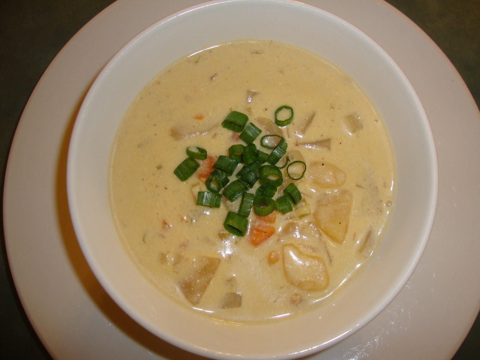 Busy Mom's Slow Cooker Adventures: Creamy Potato Soup